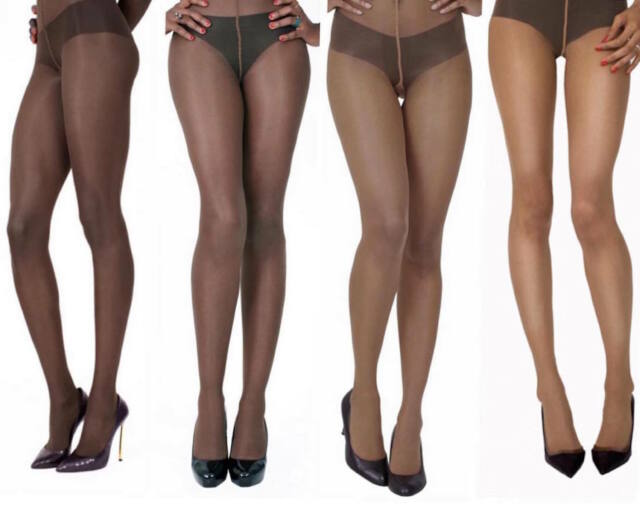 2a579e173694e 1 Pair Ownbrown Skin Colour Tights. 20 Denier. 88% Polyamide 12% elastane