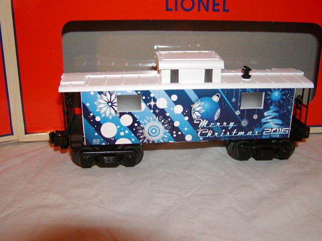 Lionel linien 6-83176 urlaub 2016 frohe weihnachten dienstwagen o 027 neu beleuchtet