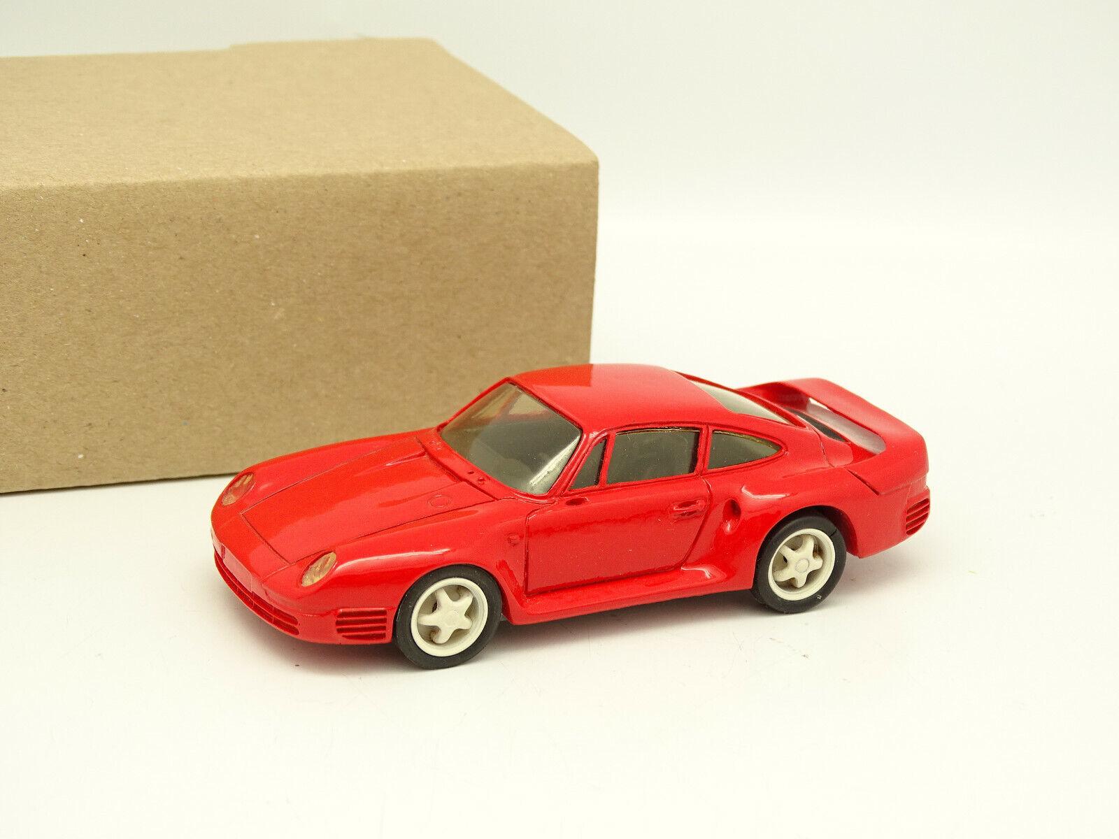 Record Set Montiert Resin 1 43 - Porsche 959 Rot