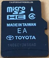 Latest Toyota 4Runner RAV4 Limited XLE Navigation Micro SDCard Map 86271-OE181C