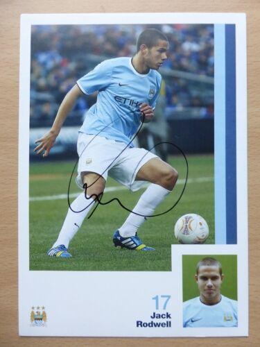 2013-14 Manchester City Signiert Offiziell Verein Cards Erster league Gewinner