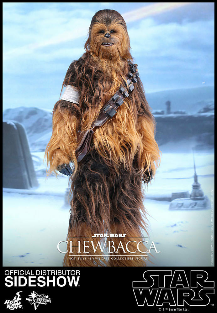 1 6 Star Wars Chewbacca Movie Masterpiece Series by Hot Toys 902759