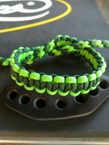 Archery Neon Green /& Emerald Sling bow wrist strap FREE SHIP Mathews Hoyt