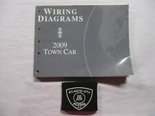 1999 Ford Lincoln Town Car Electrical Wiring Diagrams Service Manual Ebay
