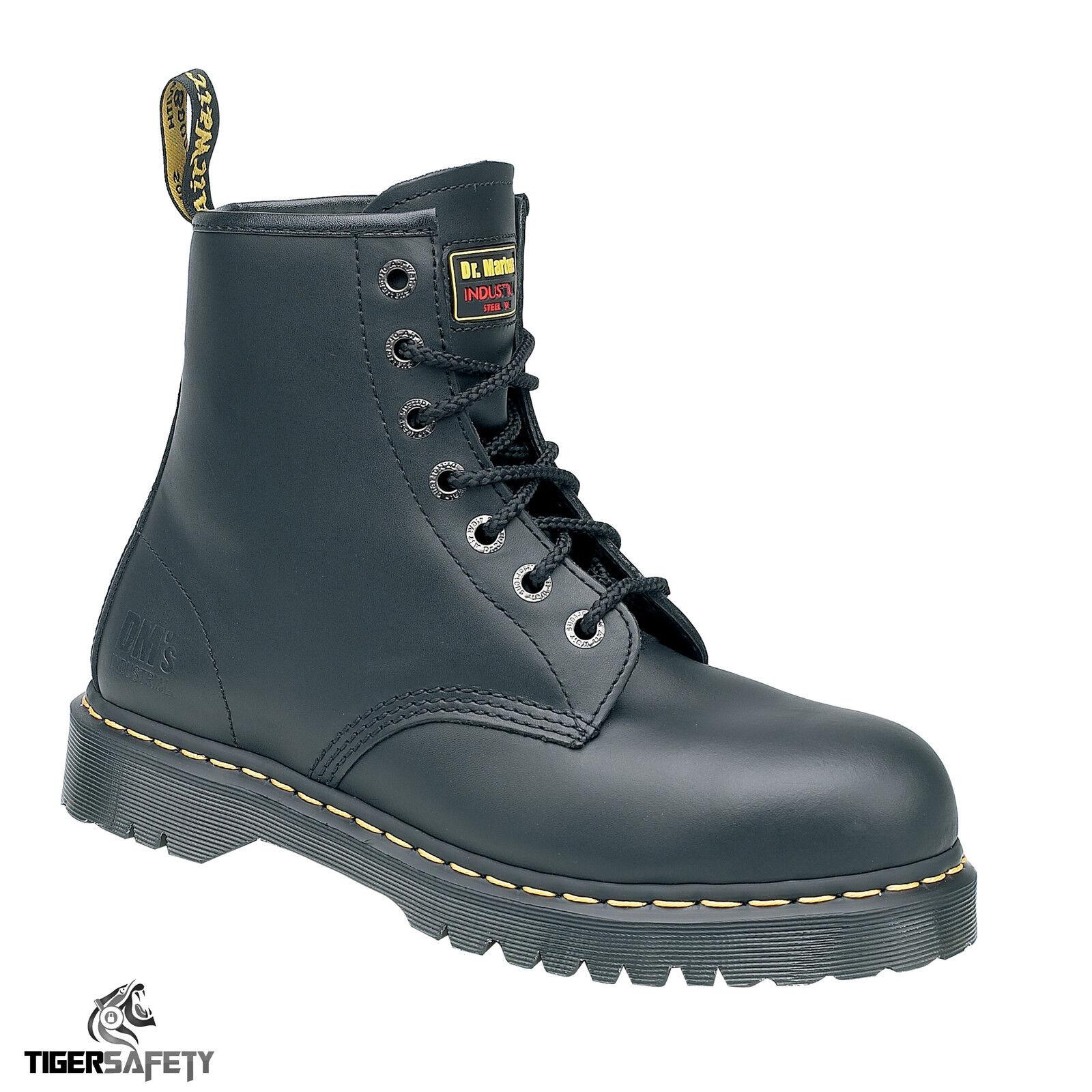 Dr Martens DM Docs Icon 7B10 Steel Toe Cap 7 Eyelet Heavy Duty Work Safety Stiefel