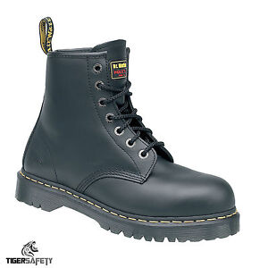 2b45544f63f Details about Dr Martens DM Docs Icon 7B10 Steel Toe Cap 7 Eyelet Heavy  Duty Work Safety Boots