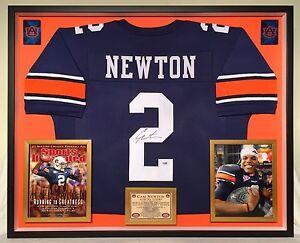 super popular 96baf 0e9d2 Details about Premium Framed Cam Newton Autographed / Signed Auburn Tigers  Jersey - PSA COA