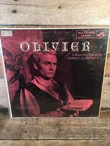 OLIVIER-Hamlet-amp-Henry-V-LP-Record-Album-Vinyl