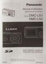 Panasonic dmc-ls3/dmc-ls2 Manuel d'utilisation français French Manual - (14397)