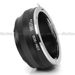 FOTGA-Canon-EOS-EF-EF-S-Lens-to-Sony-E-Mount-NEX3-NEX-5-5N-5R-NEX6-NEX-7-Adapter