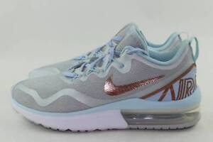 Details about NIKE AIR MAX FURY AA5740 005 WOMAN SIZE 6.5 NEW PURE PLATINUM RUNNING COMFORT