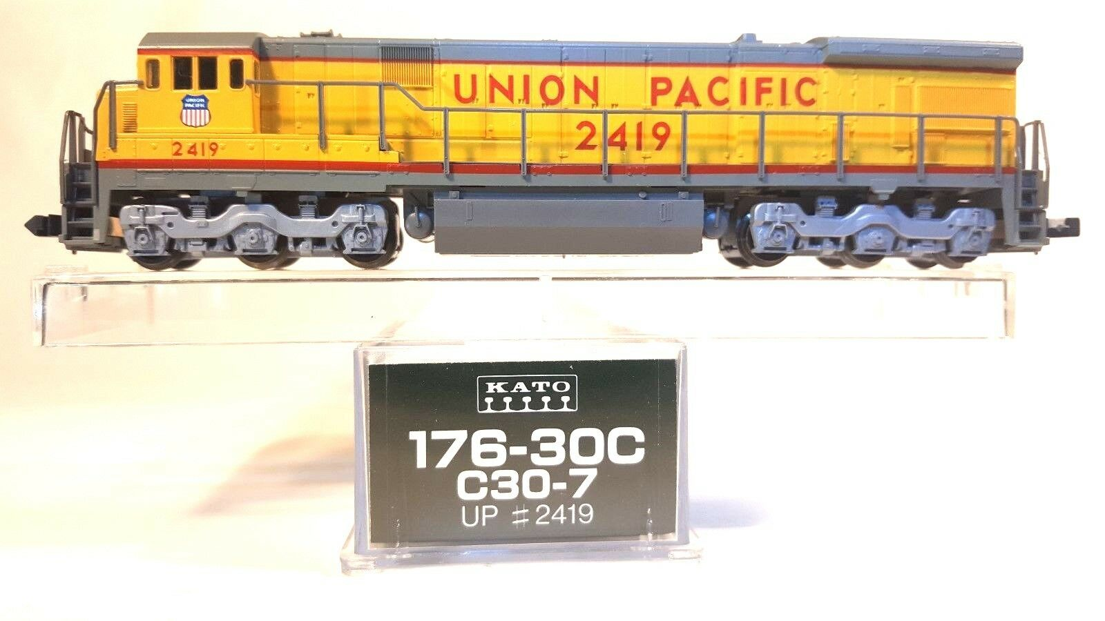 N Kato 176-30C C30-7 Union Pacific Locomotive (Tested)