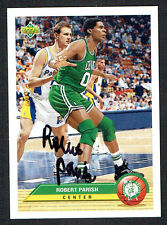 Robert Parish #BT9 signed autograph auto 1992-93 Upper Deck McDonalds Basketball