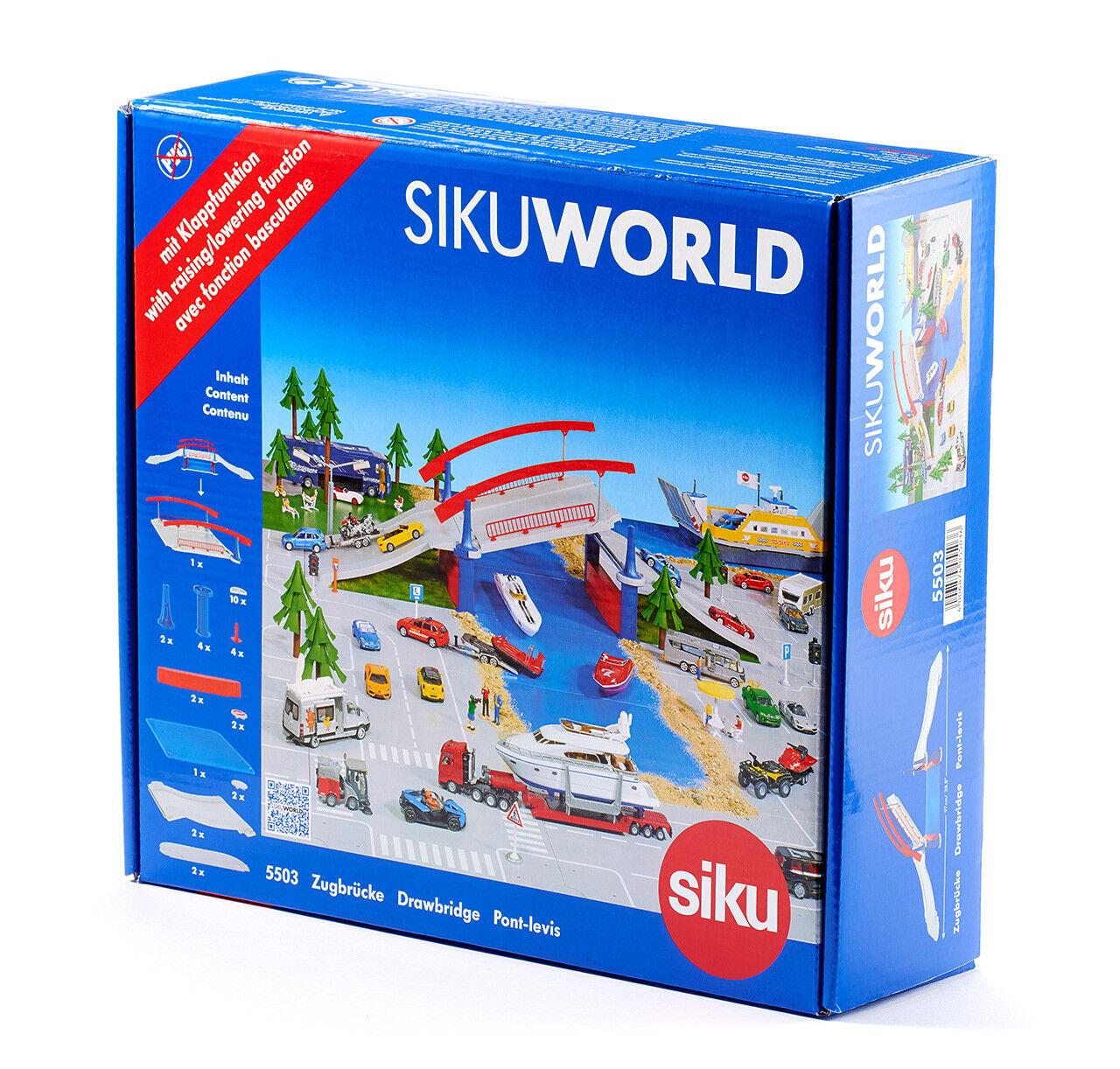 Siku World 5503 Zugbrücke  1:50  NEU in OVP