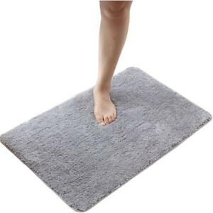 Image Is Loading Non Slip Bath Rug Set Bathroom Floor Rugs