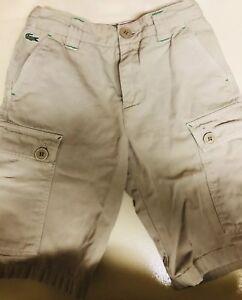 Chicos Pantalones Cortos De Lacoste Ebay