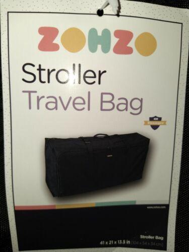 Zohzo Nylon Stroller Travel Bag For Single /& Double Strollers Unused