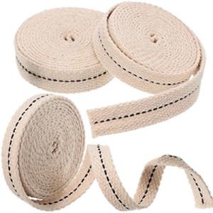 3-Rolls-Flat-Cotton-Wick-1-2-Inch-Oil-Lantern-3-4-Inch-Stitch-Oil-Lamp-7-8-Inch