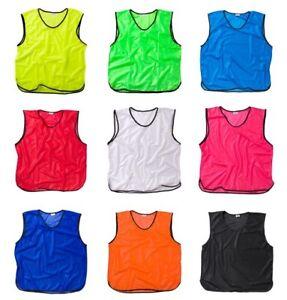 Fussballleibchen-trainingsleibchen-marcador-camisa-camisola-diferentes-colores