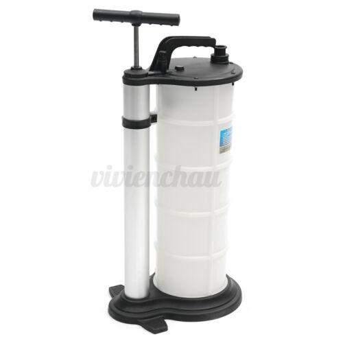 Vacuum Oil Fluid Extractor 9L Manual Fuel Petrol Syphon Pump Transfer Suction US