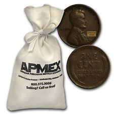 1909-1919 Wheat Cent 1,000 Count Bags - SKU #51099