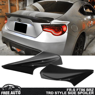 Fit For 13 20 Scion Frs Subaru Brz Primer Gray Trd Side Style Trunk Spoiler Abs 848524039393 Ebay