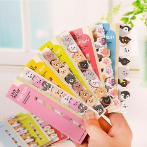 Cute-Cartoon-Animal-Panda-Cat-Memo-Pad-Stickers-Sticky-Notes-School-Stationary