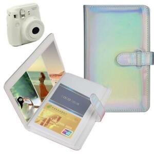 Mini-Portable-96-Pockets-PU-Photo-Album-Memory-for-Polaroid-3-034-Photos-WN