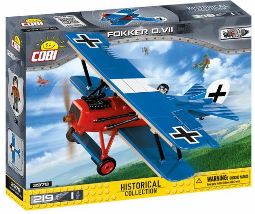 WWI  Fokker D.VII Cobi 2978 Neu Small Army