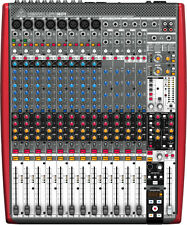 BEHRINGER XENYX UFX1604 16INPUT USB FIREWIRE AUDIO RECORD MIXER $25 INSTANT OFF