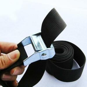 1234m-Package-Cam-Tie-Strap-Cargo-Lash-Luggage-Bag-Belt-Metal-Buckle-FN