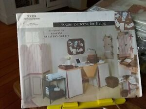 Oop-Vogue-for-Living-Susanna-Stratton-Norris-2223-home-office-storage-screen-NEW