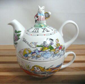 Wonderland Tea For One Teapot Cup