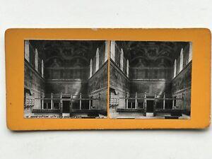Roma Cappella Sistina Vaticano Italia Fotografia B Stereo Vintage Analogica