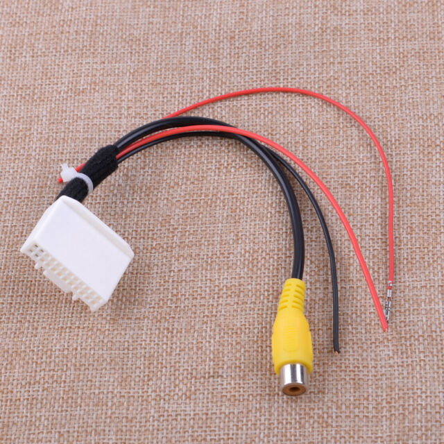 Reversing Rear View Camera Wire Cable Harness Fit For
