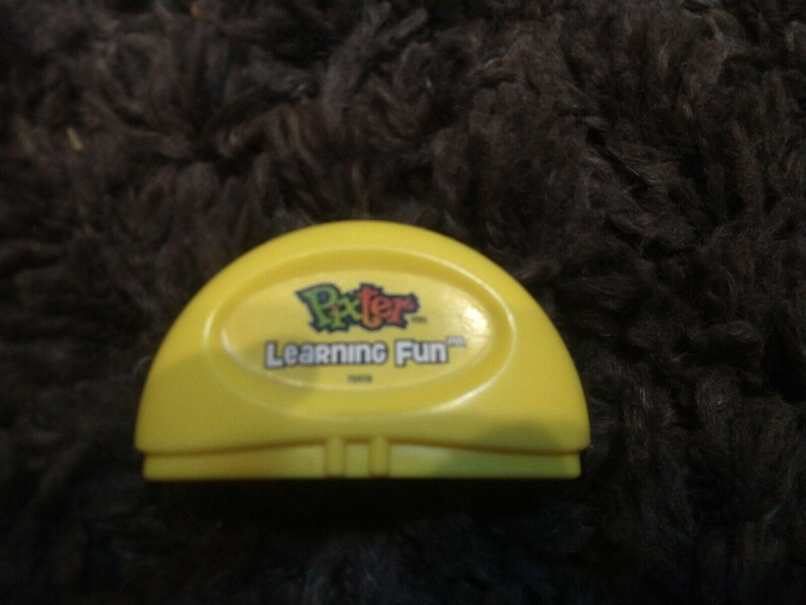 Pixter Learning Fun Cartridge 73978 Yellow 2001 Mattel