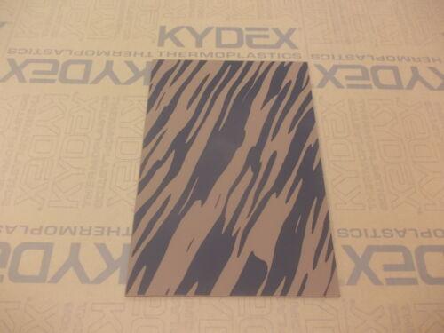 2 mm A4 Kydex T foglio 297 mm x 210 mm Wicket Marrone Strisce WOODLAND Mimetica