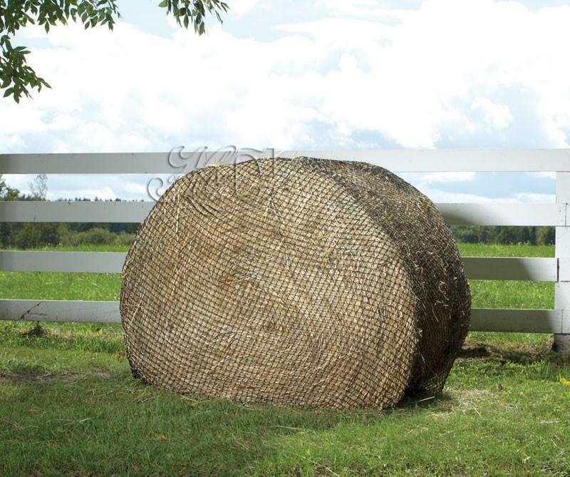 Hay  x 6' Round Bale Net Slow Feed Hay Feeder