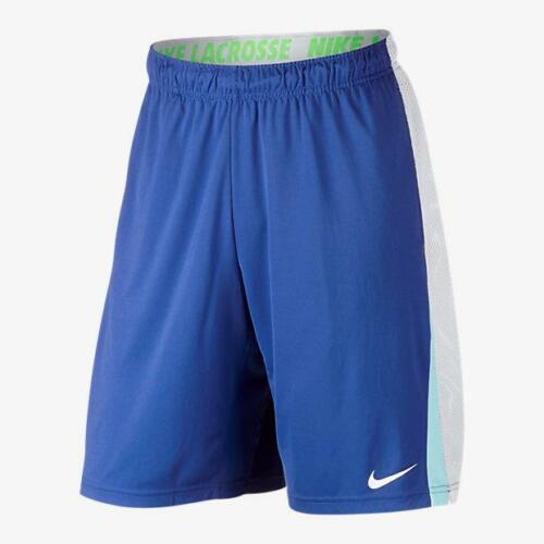 NWT Nike Mens Dry Lacrosse Shorts 828504-480 Royal $45