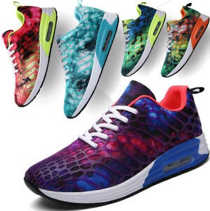 Fashion-Womens-Mens-Running-Trainers-Lace-Up-Flat-Gym-Fitness-Sports-Shoes-Size