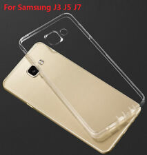 For Samsung Galaxy J3 J5 J7 2015 J320 2016 0.33mm Soft TPU Silicone Case Cover
