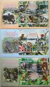 Malaysia FDC with Miniature Sheet (13.05.2013) - Wonders of Malaysian Forests