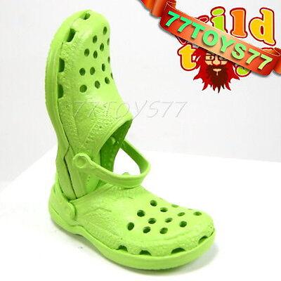 Wild Toys 1/6 Clogs_ Lime_ Sandel Fashion Shoes ACI   WT006G