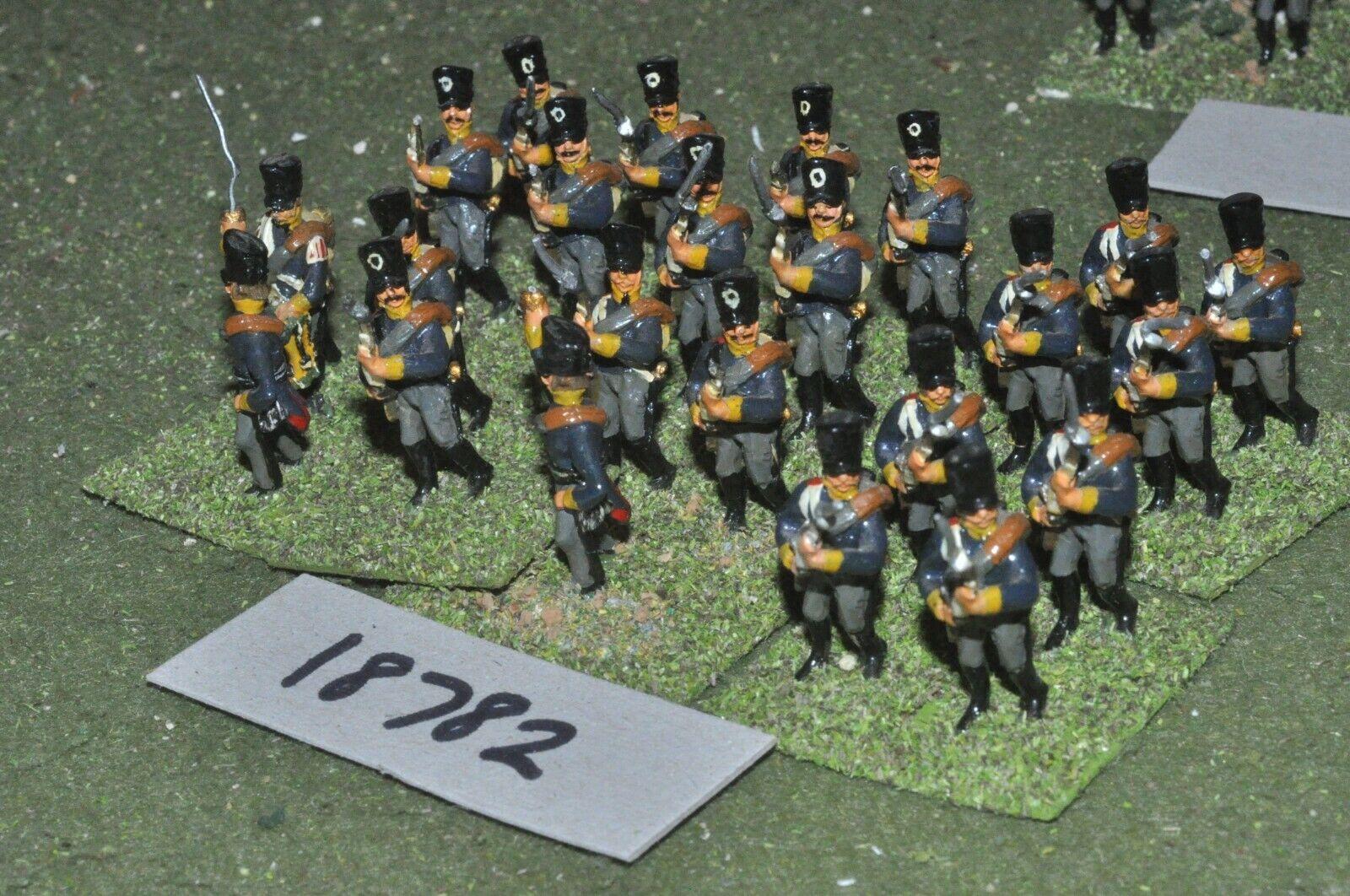 25mm Infantería Napoleónicas Prusia - 24 figuras-INF (18782)