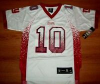 Eli Manning York Giants Jersey Youth Small Premier Nfl Reebok Stitched Logos