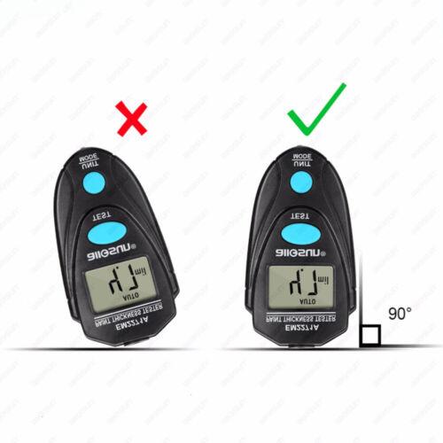 1pc LCD Digital Car Paint Coating Thickness Probe Tester Gauge Meter Measuring