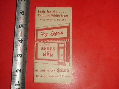 Vintage Memo Book Advertising Newark Shoes Tiffin Ohio C