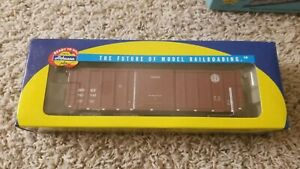 Athearn-50-039-ACF-Boxcar-BNSF-Railbox-type-Road-723142-Stock-92883-rtr
