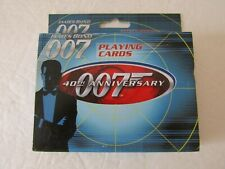 40th Anniversary **New in Tin** James Bond 007 Playing Cards