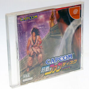 CAPCOM-TAISEN-FAN-DISC-SEGA-Dreamcast-Japan-Import-DC-NTSC-J-Japanese-Version